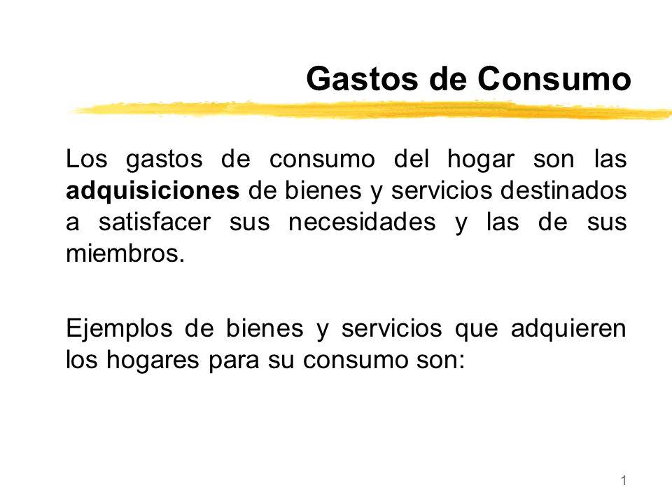 Gastos de Consumo