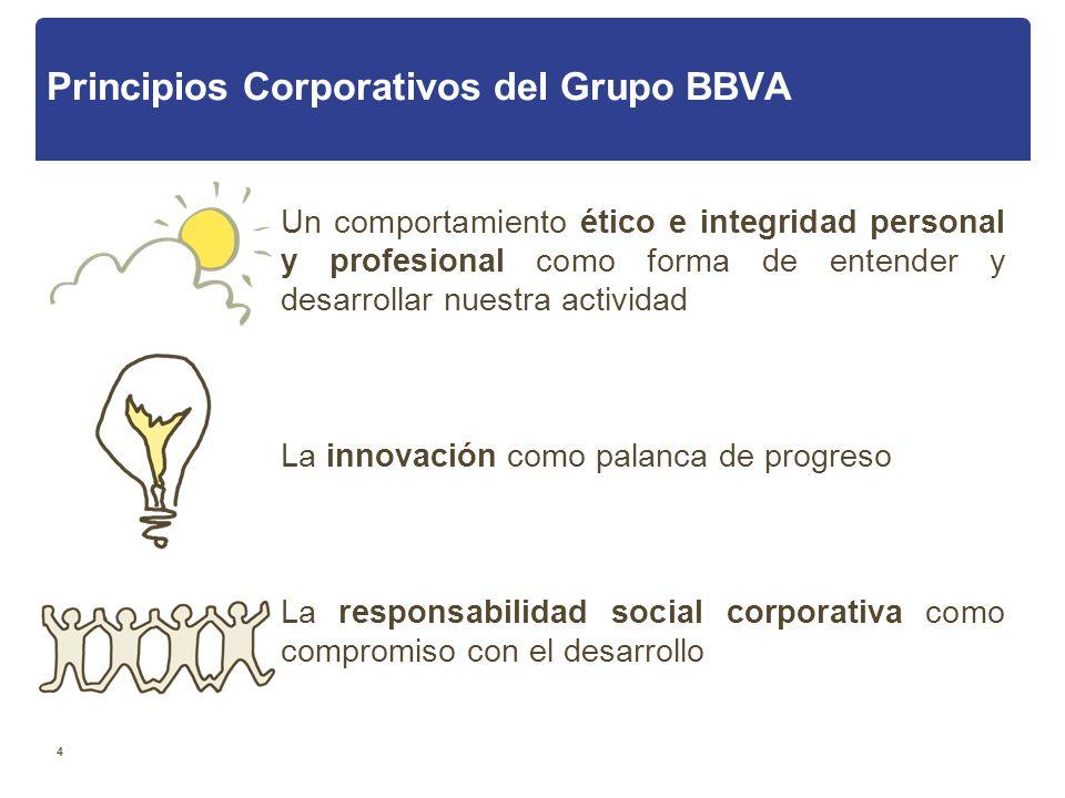 Principios Corporativos del Grupo BBVA