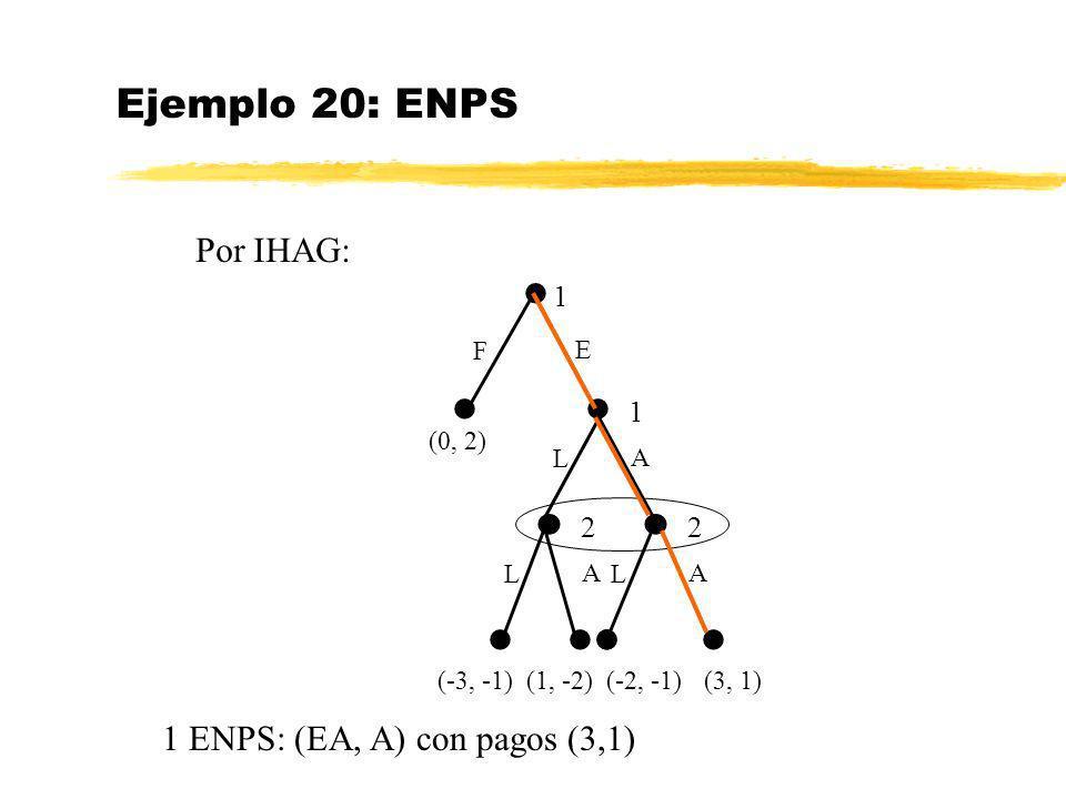 Ejemplo 20: ENPS Por IHAG:            