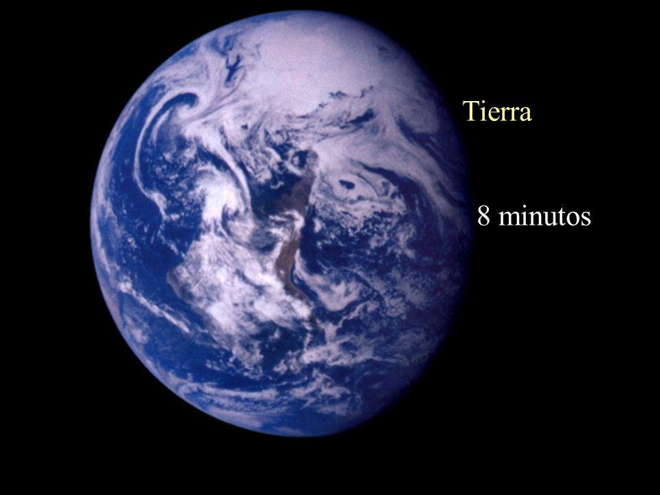 Tierra 8 minutos