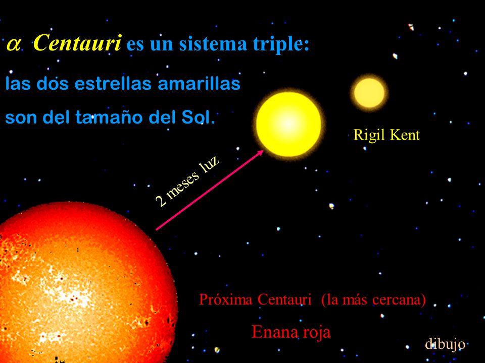a Centauri es un sistema triple: