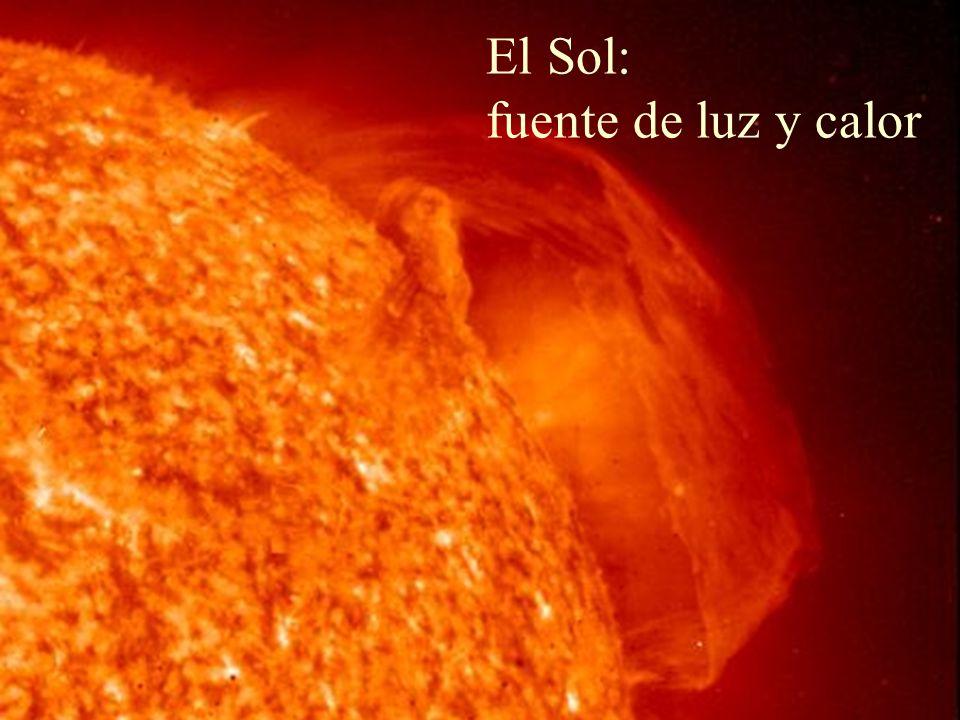 El Sol: fuente de luz y calor