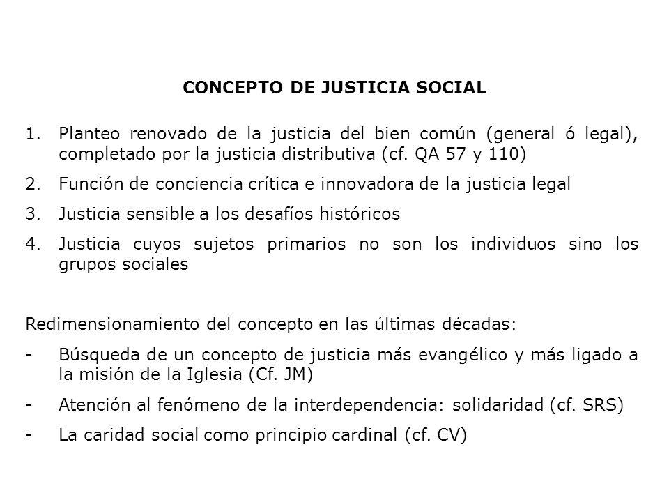 CONCEPTO DE JUSTICIA SOCIAL