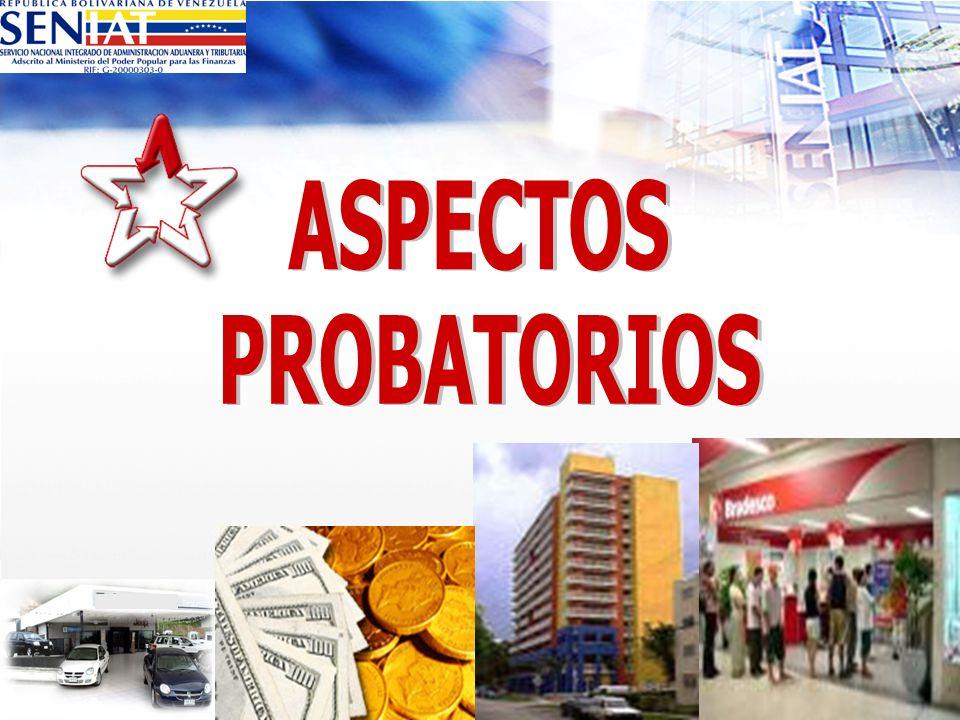ASPECTOS PROBATORIOS