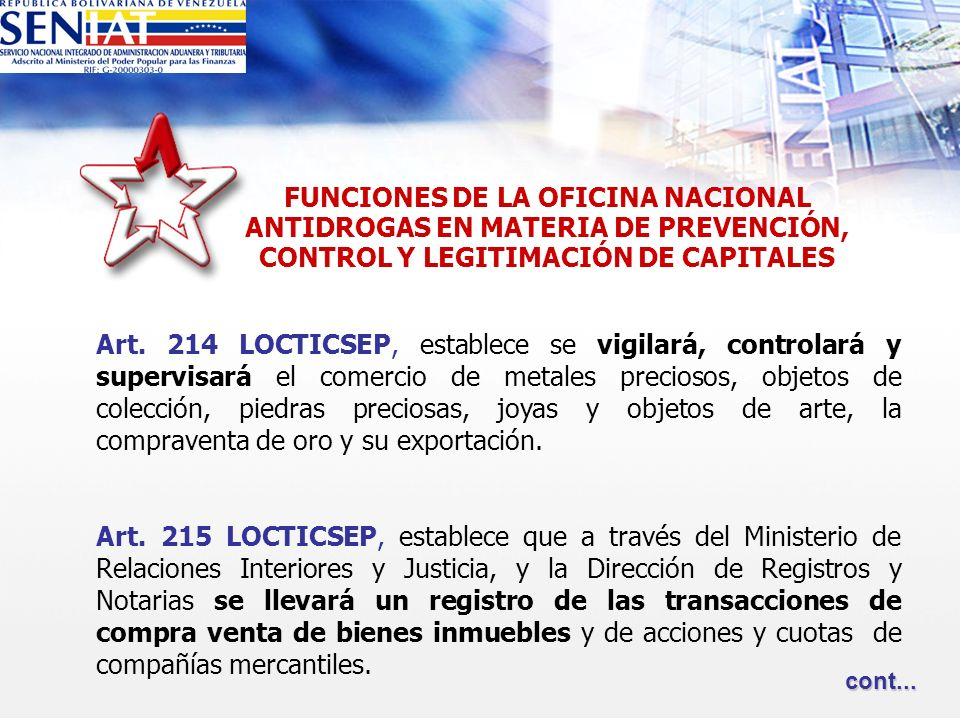 Legitimaci n de capitales ppt descargar for Direccion de ministerio de interior y justicia
