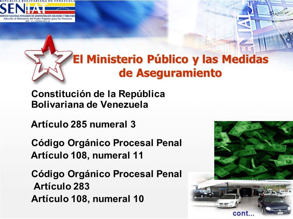 El Ministerio Público y las Medidas de Aseguramiento