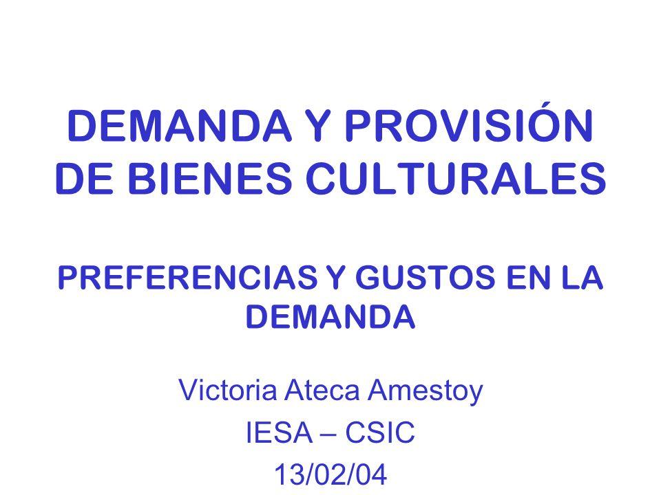 Victoria Ateca Amestoy IESA – CSIC 13/02/04