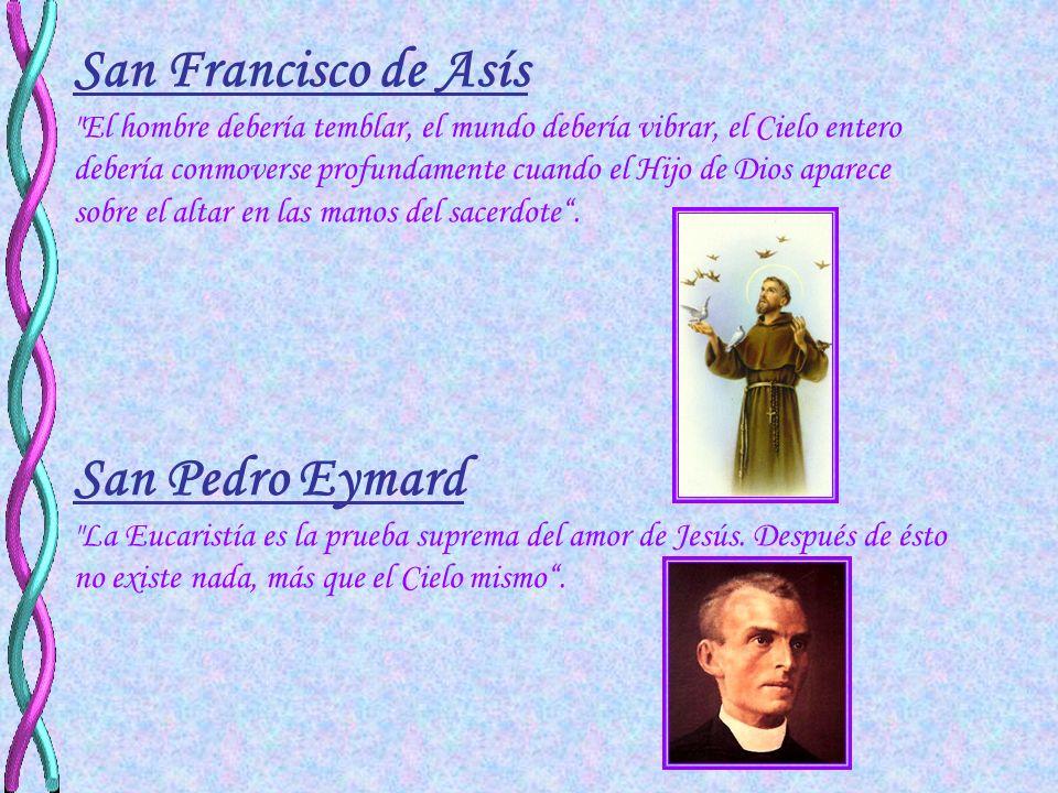 San Francisco de Asís San Pedro Eymard