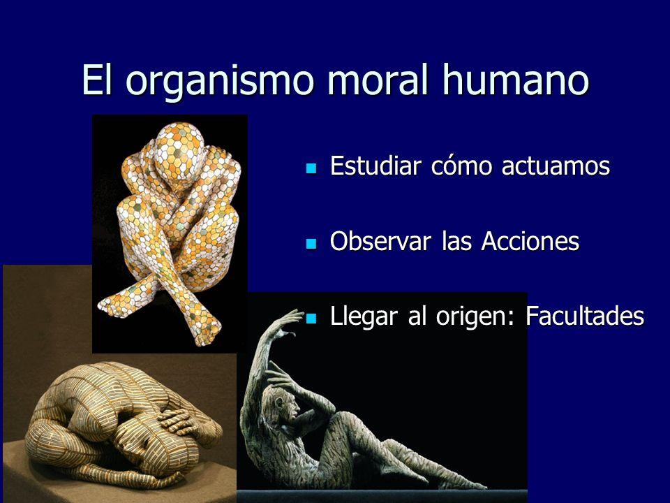 El organismo moral humano