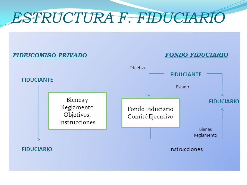 ESTRUCTURA F. FIDUCIARIO