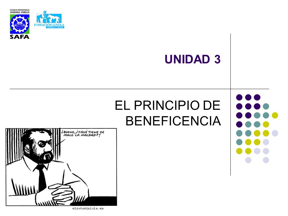 EL PRINCIPIO DE BENEFICENCIA