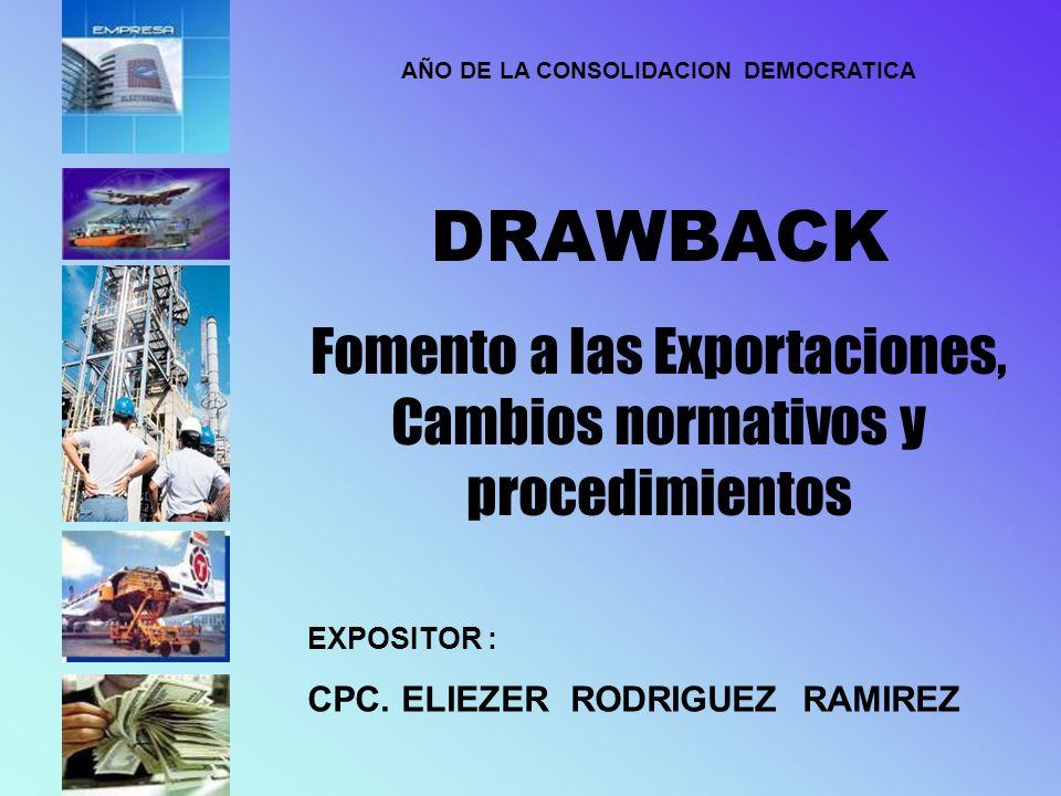 AÑO DE LA CONSOLIDACION DEMOCRATICA