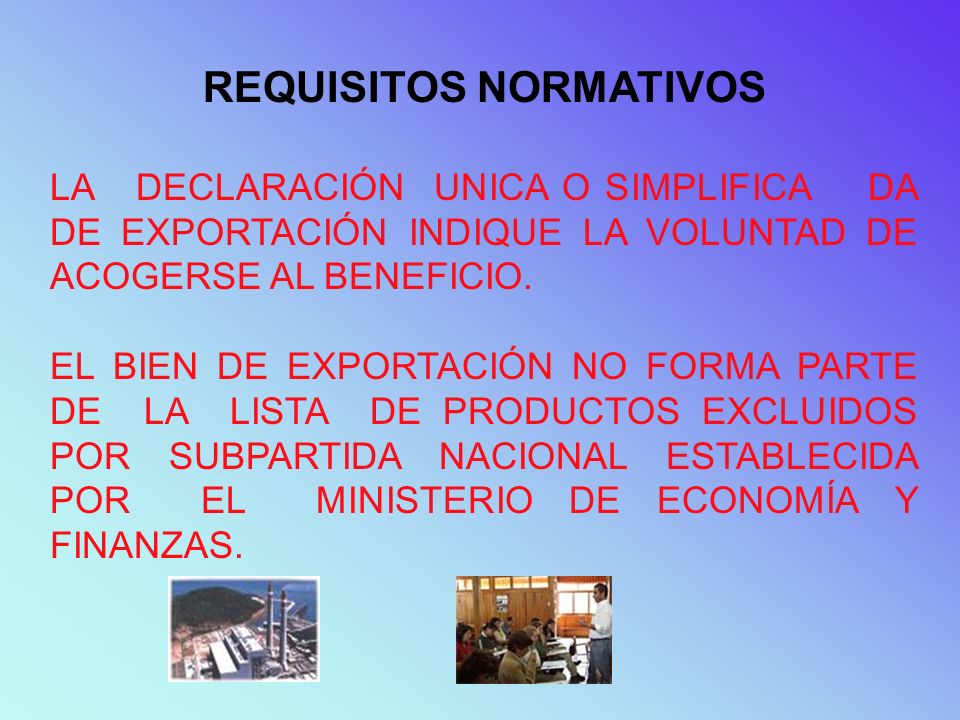 REQUISITOS NORMATIVOS