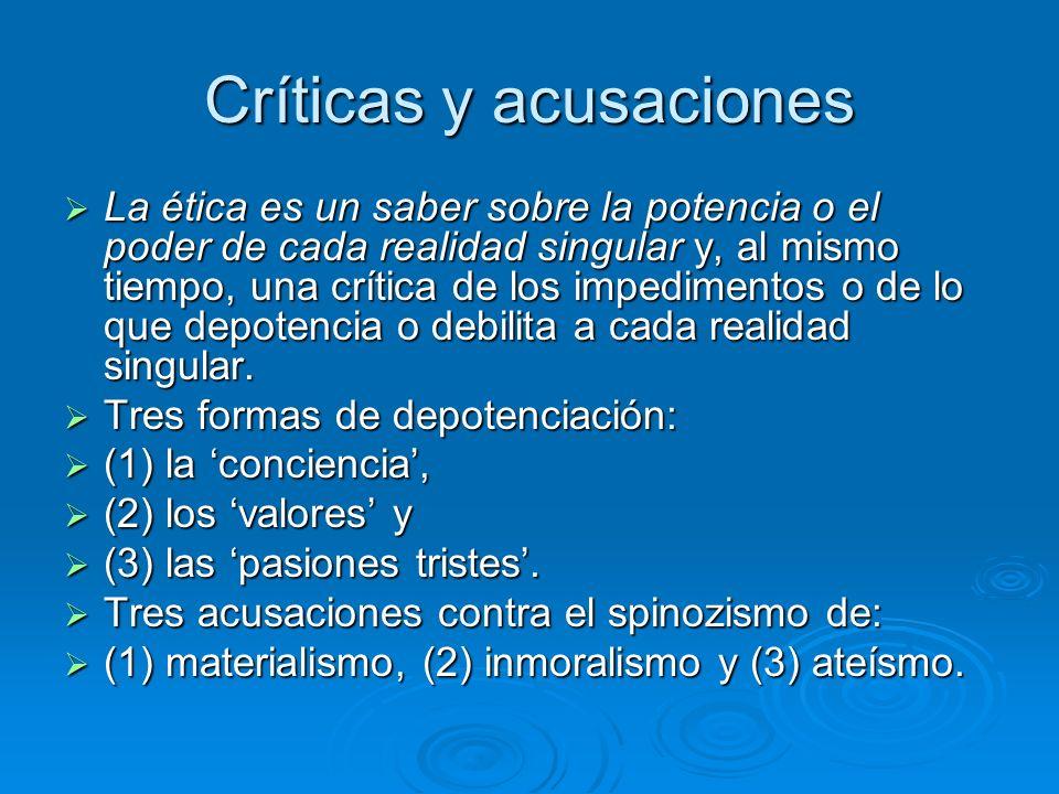Críticas y acusaciones