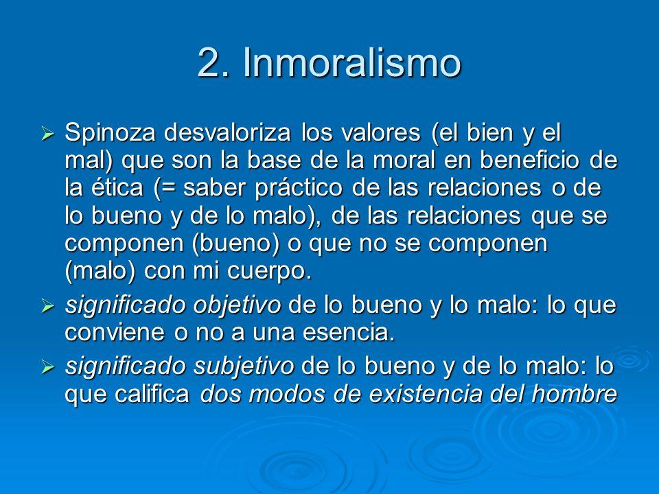 2. Inmoralismo