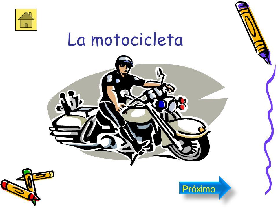 La motocicleta Próximo
