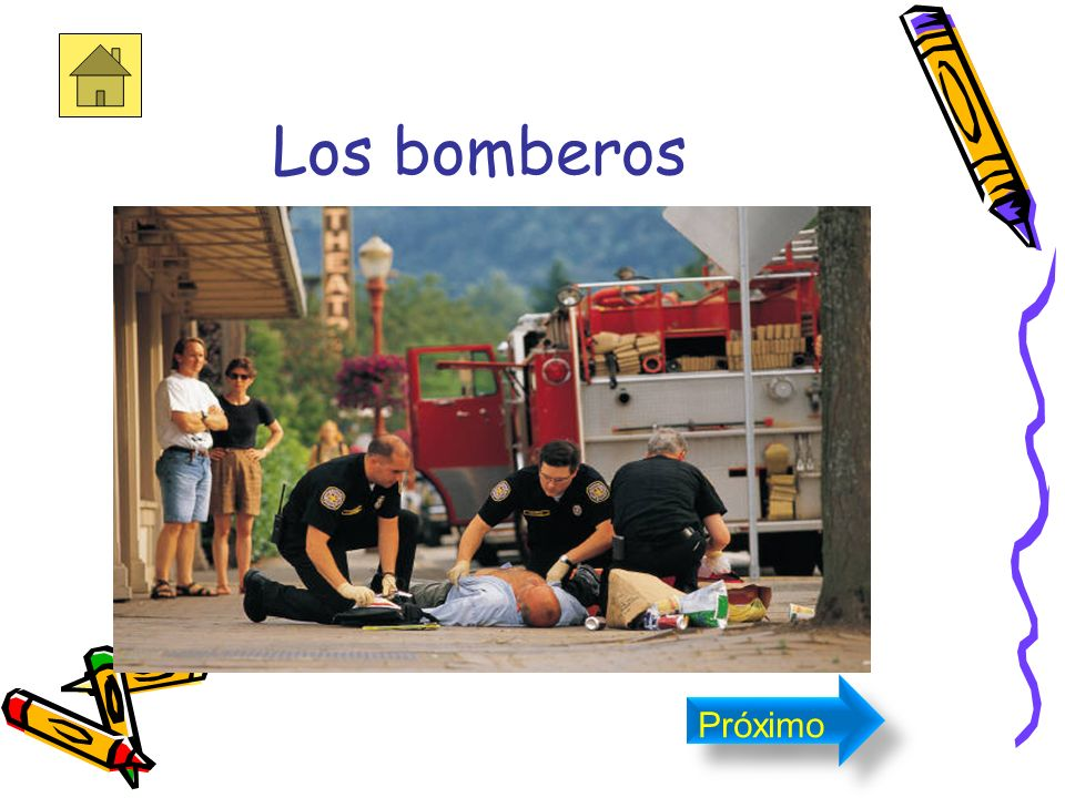 Los bomberos Próximo