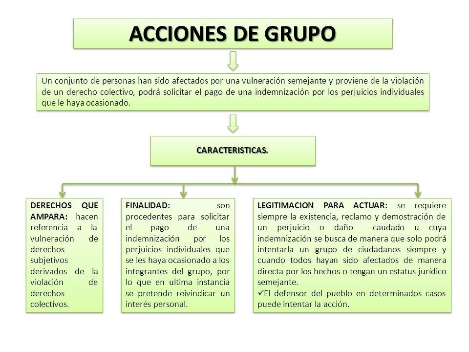ACCIONES DE GRUPO