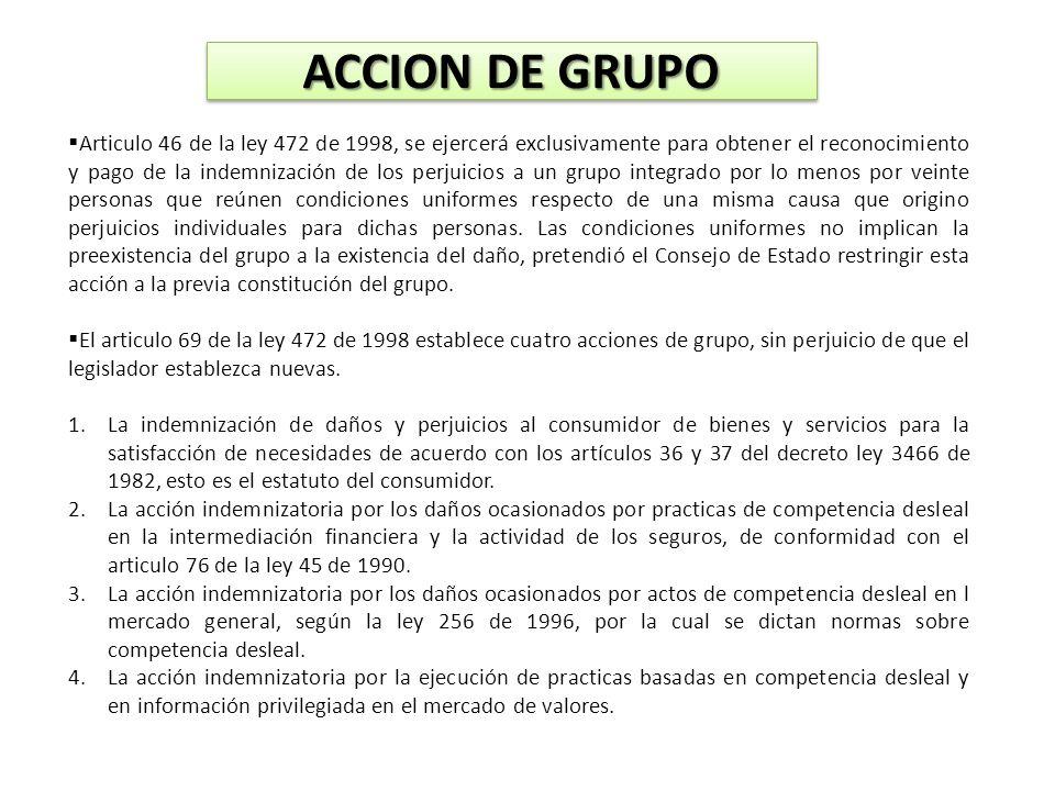 ACCION DE GRUPO