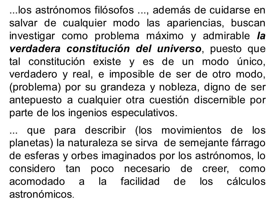 los astrónomos filósofos