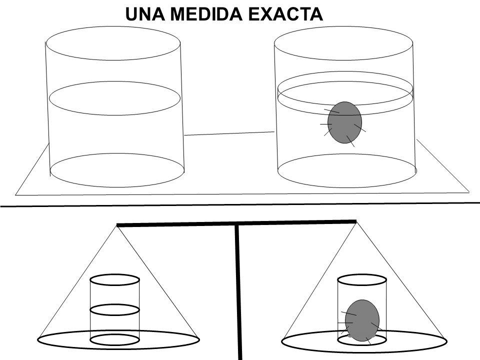 UNA MEDIDA EXACTA