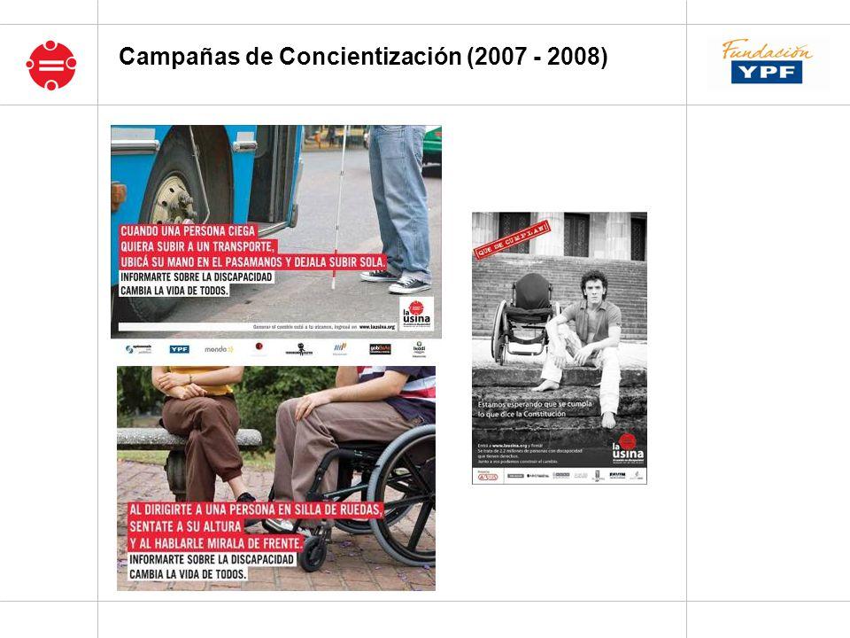 Campañas de Concientización (2007 - 2008)