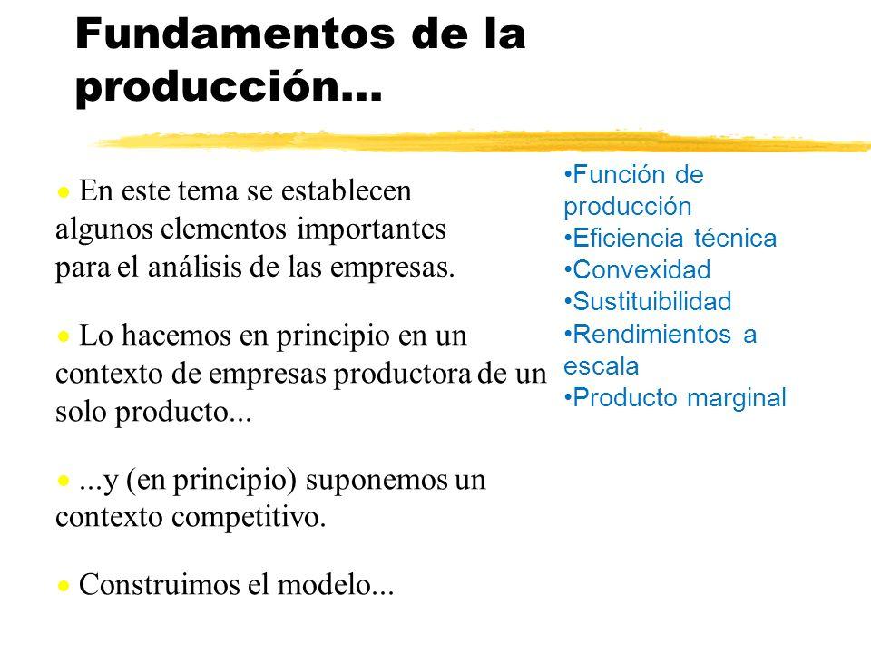Fundamentos de la producción...