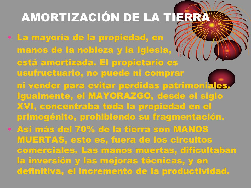 AMORTIZACIÓN DE LA TIERRA