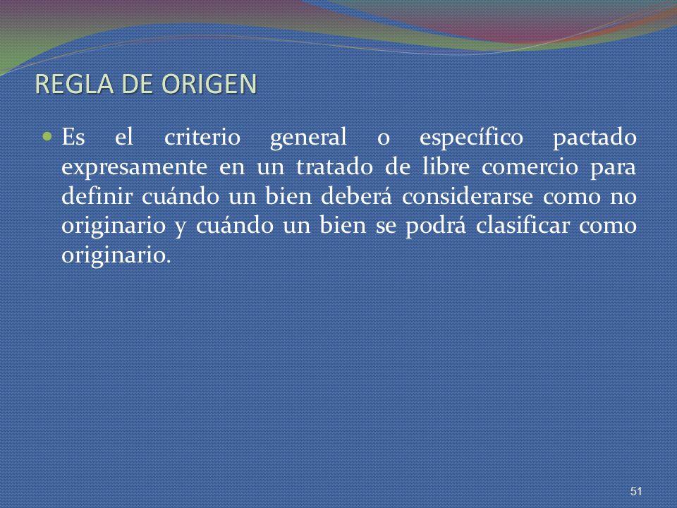 REGLA DE ORIGEN