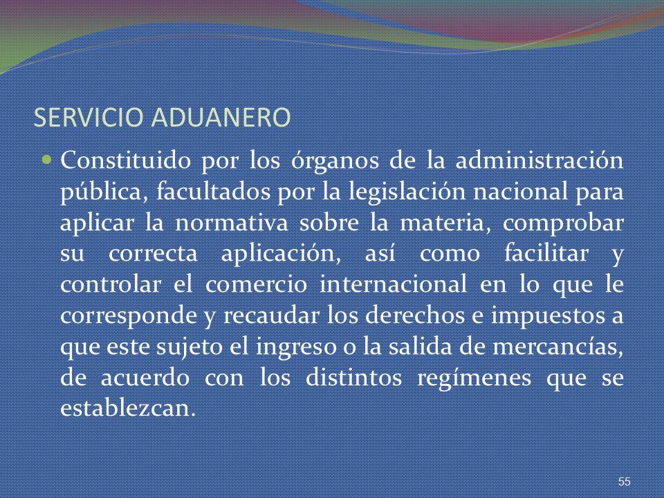 SERVICIO ADUANERO