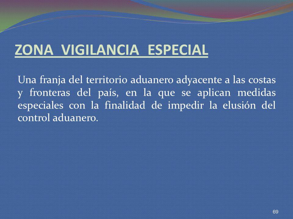 ZONA VIGILANCIA ESPECIAL