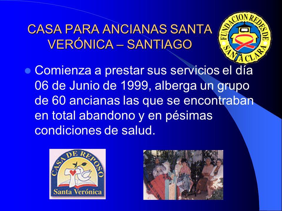 CASA PARA ANCIANAS SANTA VERÓNICA – SANTIAGO