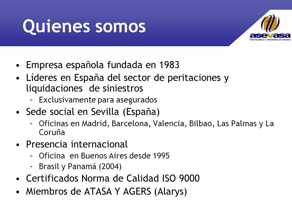 Quienes somos Empresa española fundada en 1983