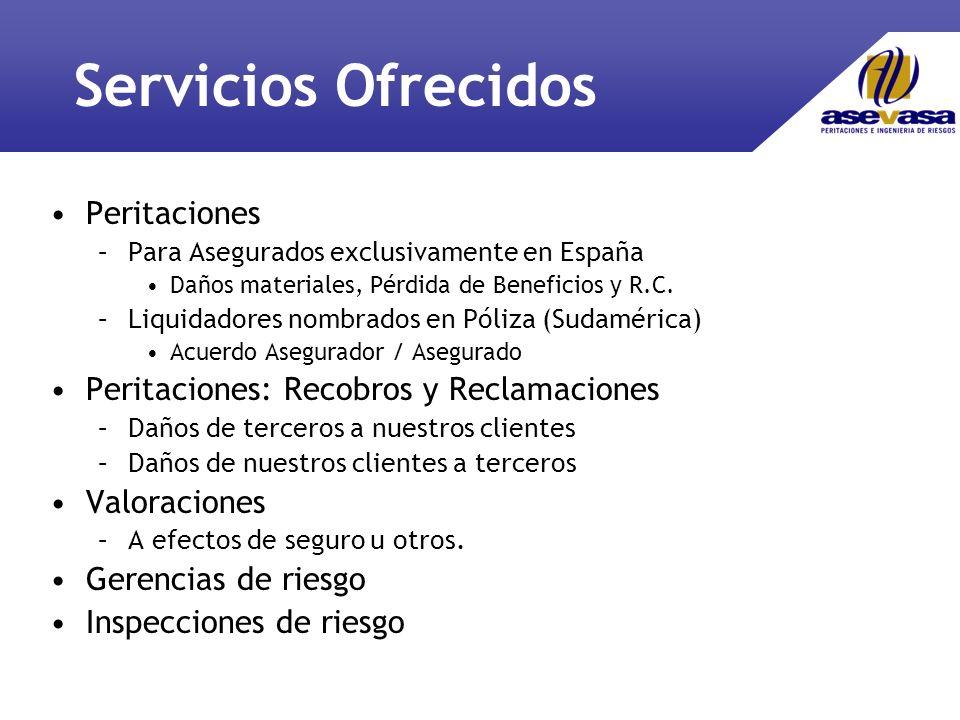 Servicios Ofrecidos Peritaciones