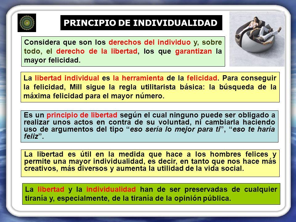 PRINCIPIO DE INDIVIDUALIDAD