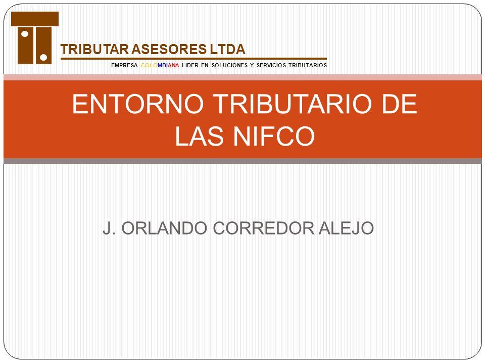 ENTORNO TRIBUTARIO DE LAS NIFCO