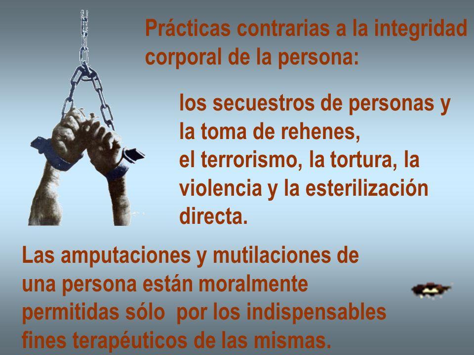 Prácticas contrarias a la integridad