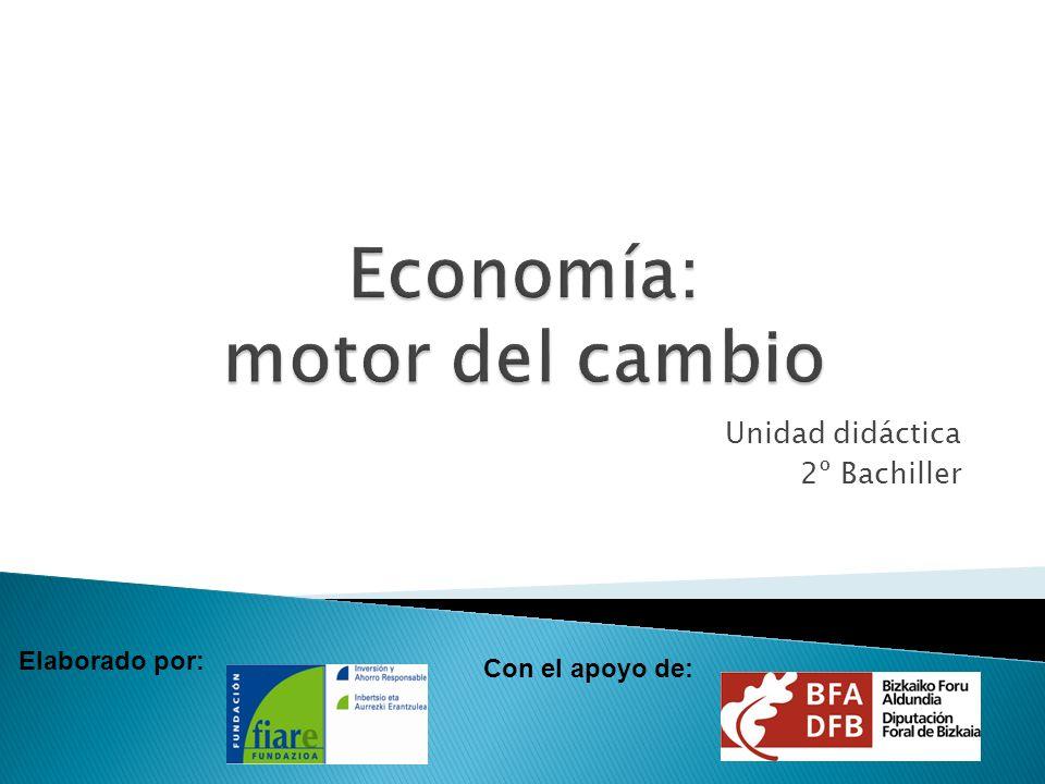 Economía: motor del cambio