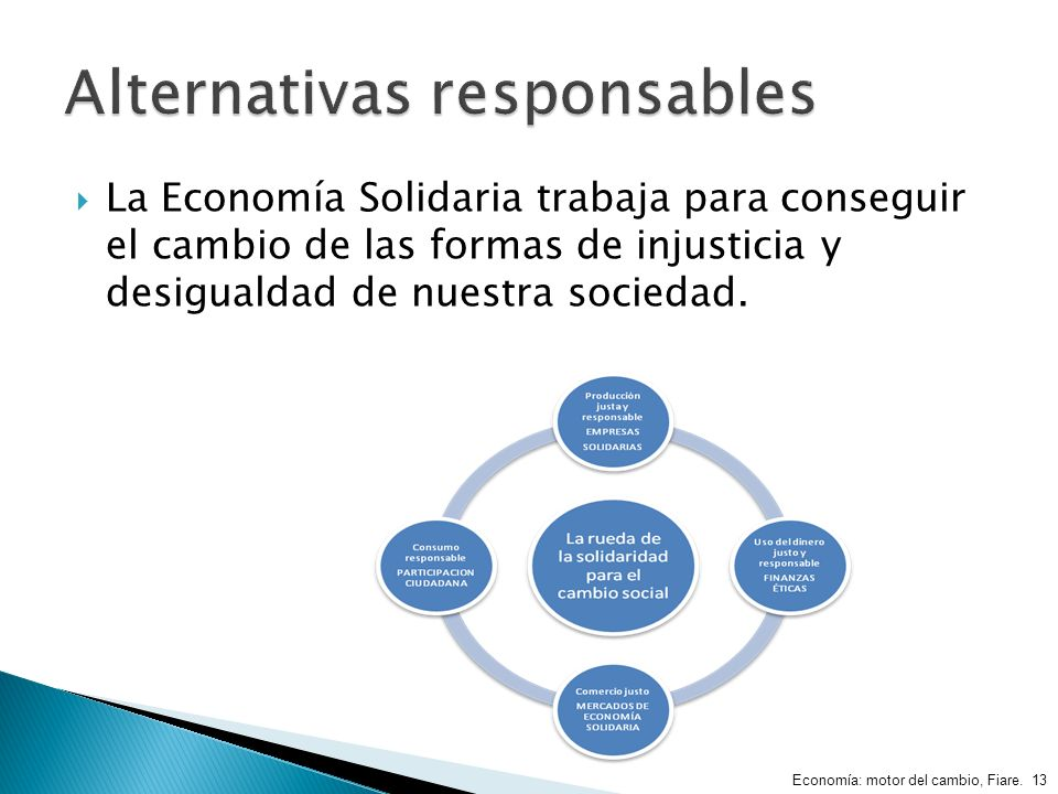 Alternativas responsables