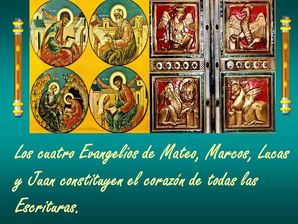 Los cuatro Evangelios de Mateo, Marcos, Lucas