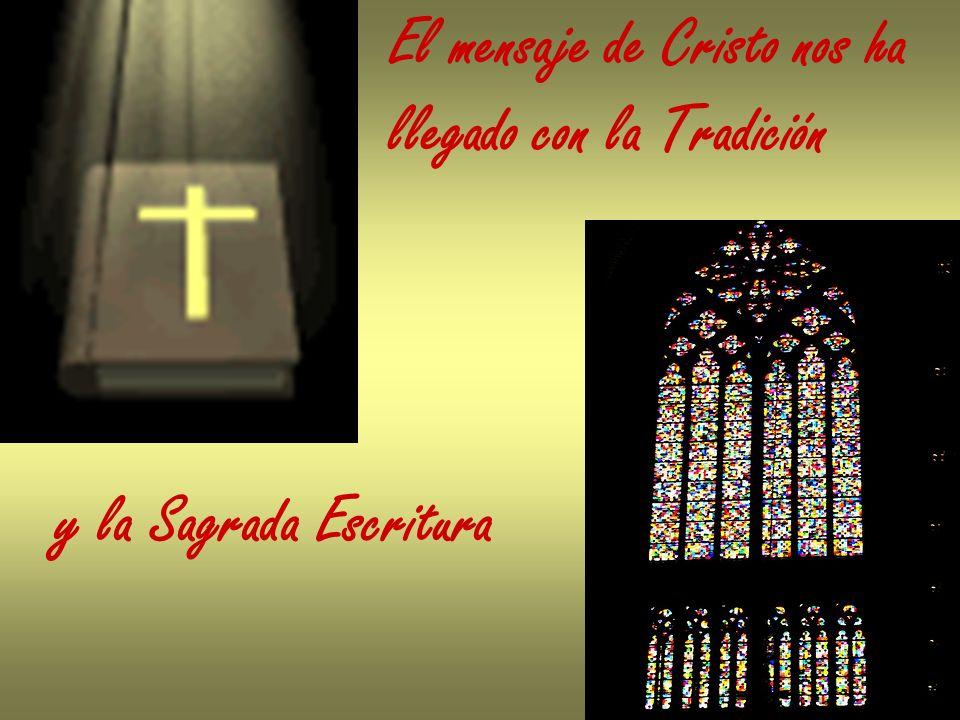 El mensaje de Cristo nos ha