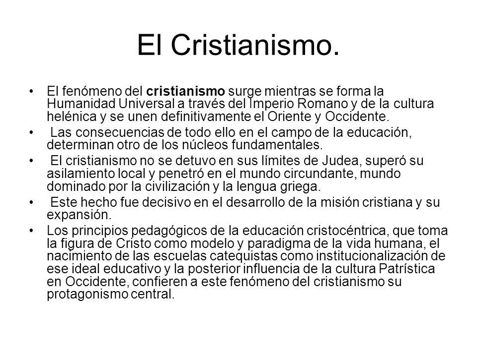 El Cristianismo.