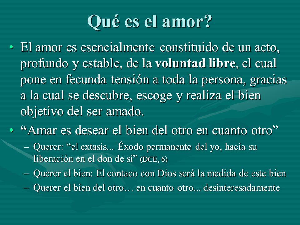 Qué es el amor