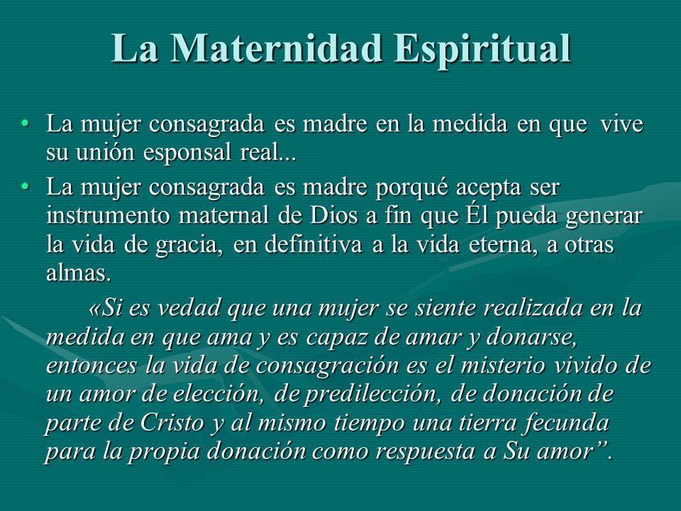 La Maternidad Espiritual