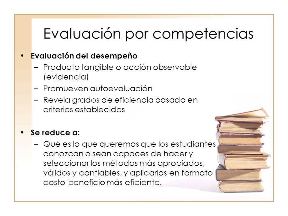 Evaluación por competencias