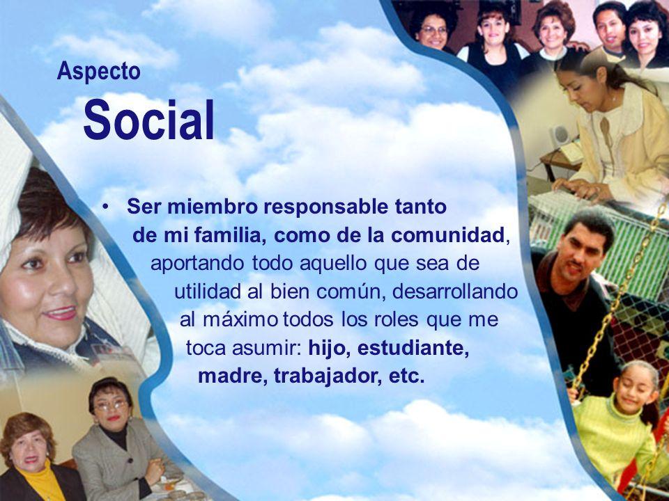 Aspecto Social.