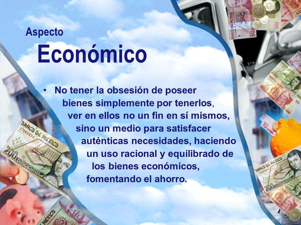 Aspecto Económico.