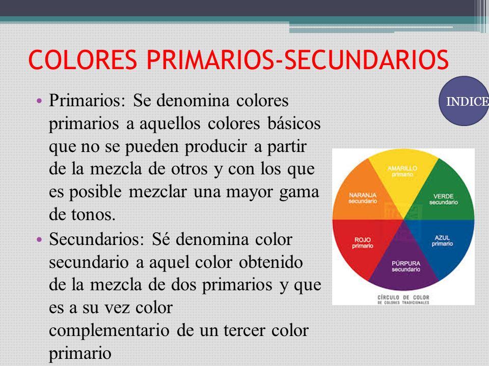 Indice color luz y materia colores primarios secundarios - Cuales son los colores calidos y frios ...