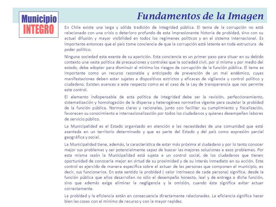 Municipio INTEGRO Fundamentos de la Imagen