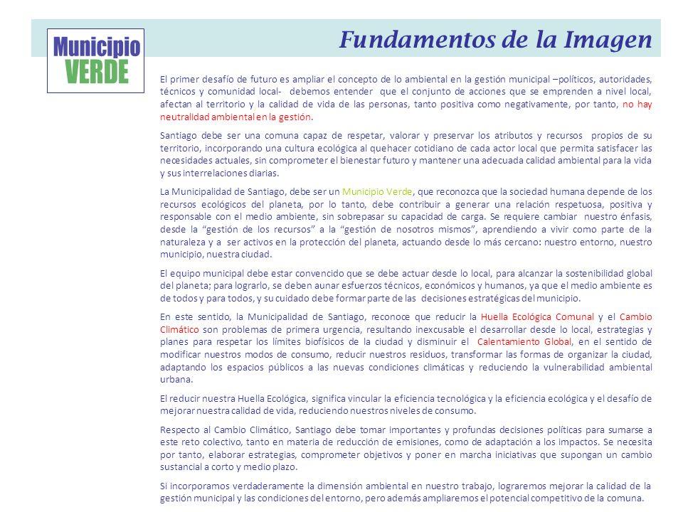 Municipio VERDE Fundamentos de la Imagen